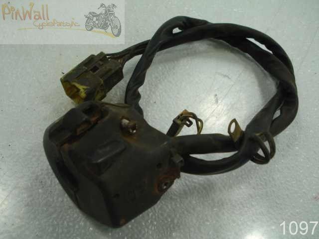 USED 99 SUZUKI GSX R600 GSXR600 R 600 LEFT HANDLEBAR CONTROL SWITCH
