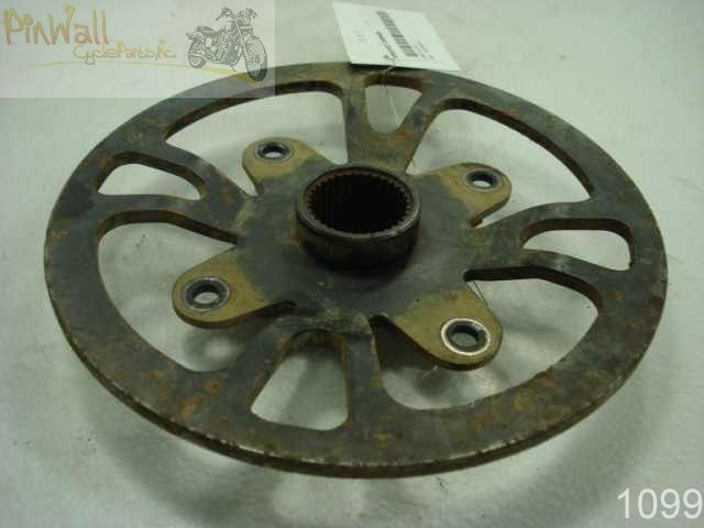 USED 02 Can-Am Bombardier Rally 200 SPROCKET CARRIER