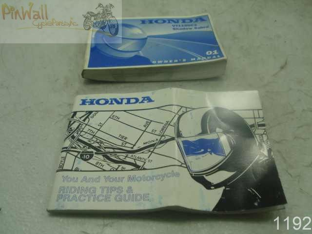 honda shadow 1100 owners manual