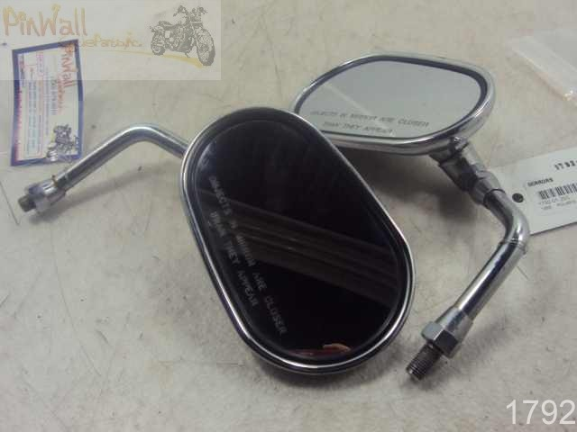 USED 1999 POLARIS Victory V92C MIRRORS MIRROR LEFT RIGHT SET