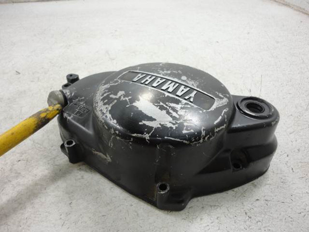 02 yamaha pw80 pw 80 clutch engine cover ebay. Black Bedroom Furniture Sets. Home Design Ideas