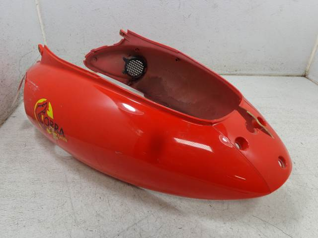 USED 2001 Kymco Cobra Racer 50 Scooter REAR FRAME COVER TAIL SIDE COVER FAIRING