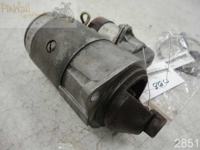 USED Ural Motorcycle STARTER STARTING MOTOR W/ SOLENOID