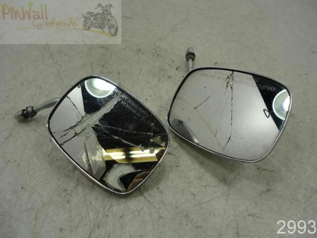 USED  02 Harley Davidson 88 1450 Touring FLHT MIRRORS LEFT RIGHT MIRROR SET