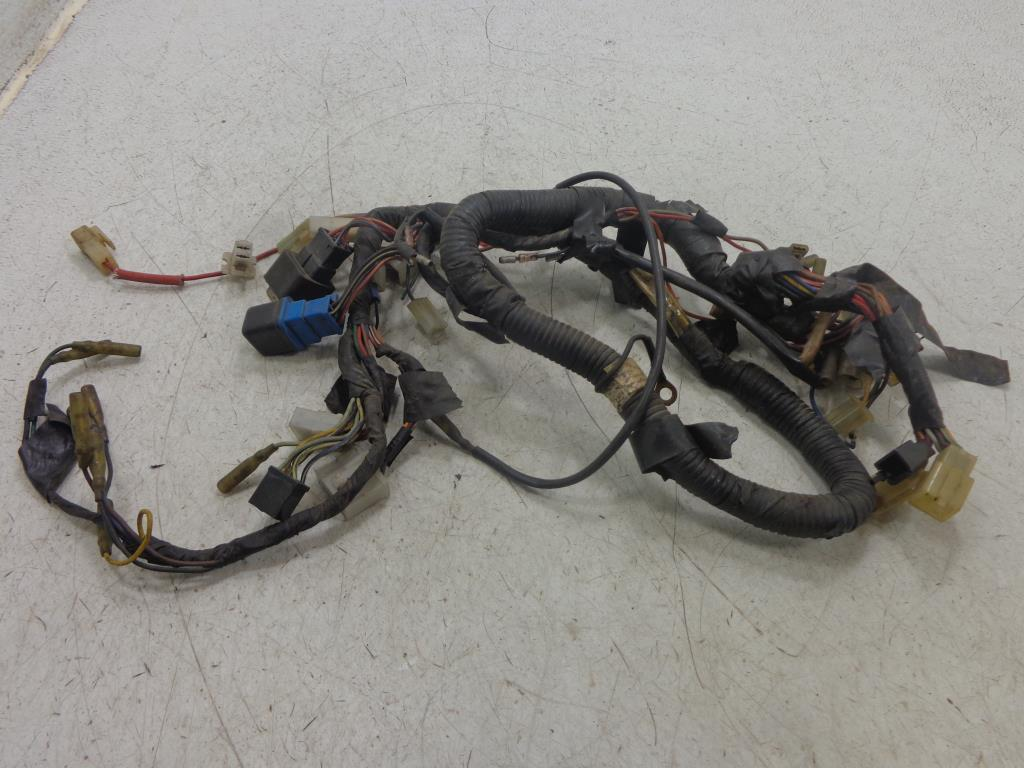 pinwall cycle parts, inc your one stop, motorcycle shop for used Yamaha Virago Bobber used 86 93 yamaha xv700 xv750 virago main wire wiring harness 1rm 82590