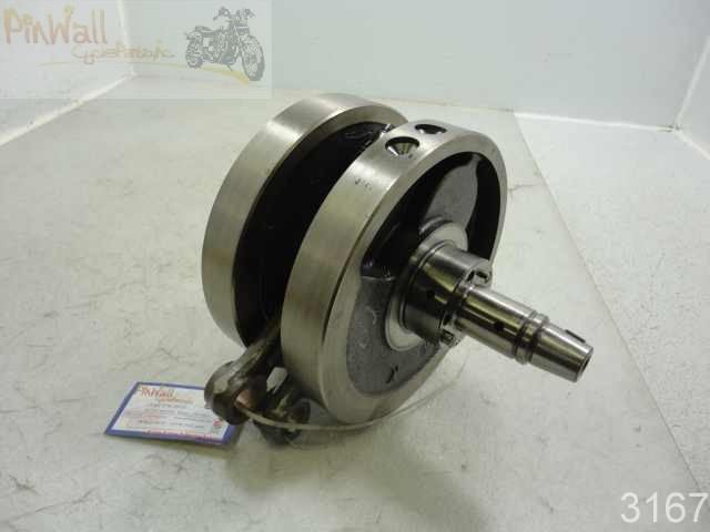 USED 00 POLARIS Victory V92SC V92 Sportcruiser CRANK SHAFT CRANKSHAFT FLYWHEEL FLYWHEELS