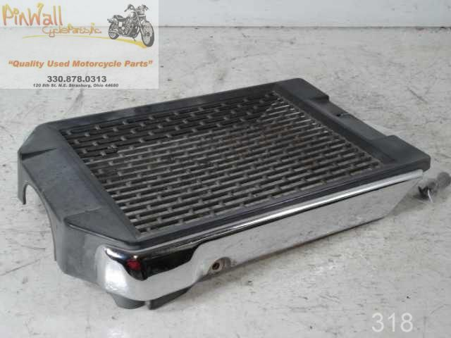 USED 1996-2009 KAWASAKI EN500 Vulcan LTD 500 RADIATOR GRILL SCREEN COVER 14037-1220