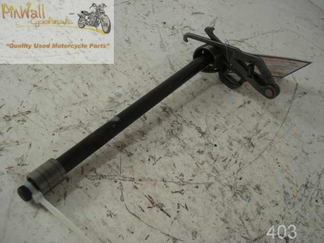 USED 1986-2007 Kawasaki Ninja EX250 250 250R SHIFTER SHIFT CHANGE LEVER ROD SHAFT