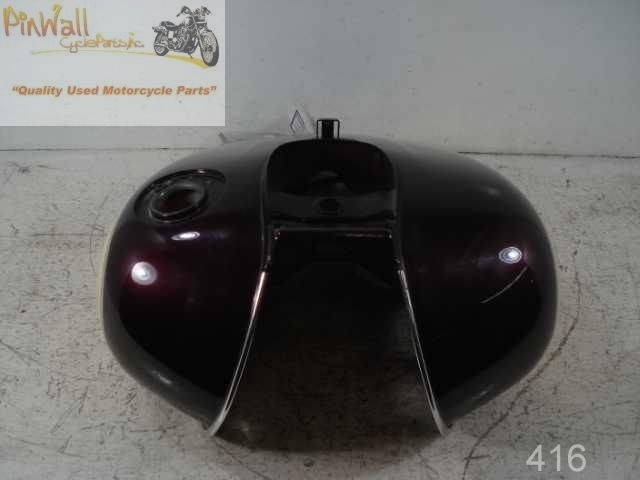 USED 1998-2003 Kawasaki Vulcan VN1500 Nomad Classic Carbureted FUEL GAS PETRO TANK