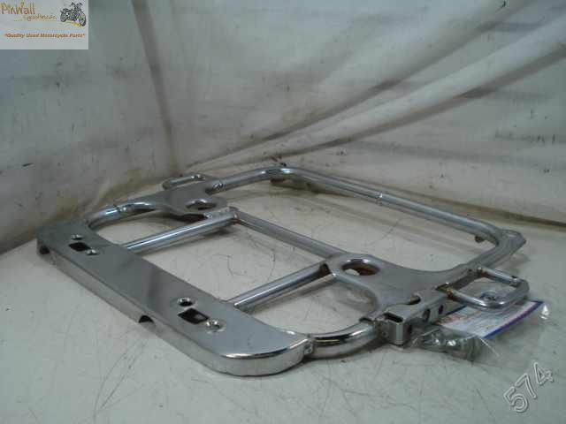 USED 85 YAMAHA XVZ1200 1200 Venture Royale TRUNK MOUNTING RACK TOUR PAK MOUNT BRACKET