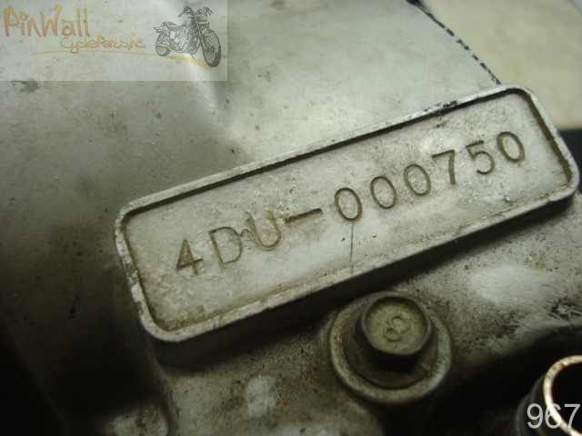 Yamaha XJ600 Seca II ENGINE MOTOR BLOCK TRANSMISSION