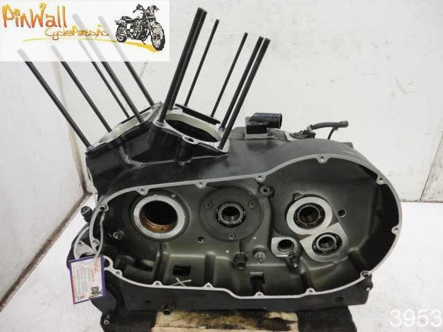 USED 00 Polaris Victory V92SC V92 Sportcruiser ENGINE CRANK CASES CRANKCASE