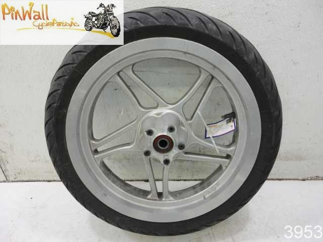 USED 00 Polaris Victory V92SC V92 Sportcruiser FRONT WHEEL RIM