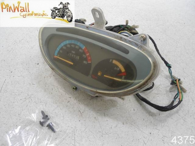 USED 2003 Extreme Daytona 125 GAUGES SPEEDOMETER TACHOMETER