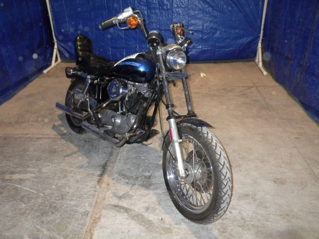 Knievel S 76 Ironhead Could Be Yours: 76 HARLEY DAVIDSON XLCH 1000 Sportster Ironhead 100 BOTTOM