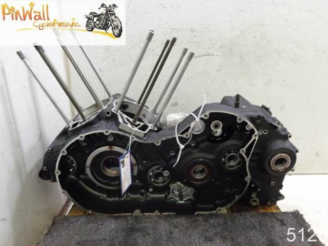 USED 2004-2010 Kawasaki Vulcan VN2000 2000 ENGINE CRANKCASE CASE CRANKCASES CASES