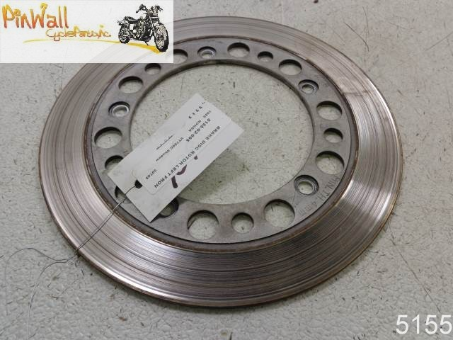 USED Honda FRONT LEFT BRAKE DISK ROTOR 83-86 VT700 Shadow CB450 SC CM450 CB1000 GL650