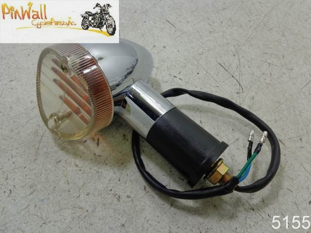 USED 1985 HONDA VT700C Shadow SIGNAL LIGHT LEFT FRONT TURN