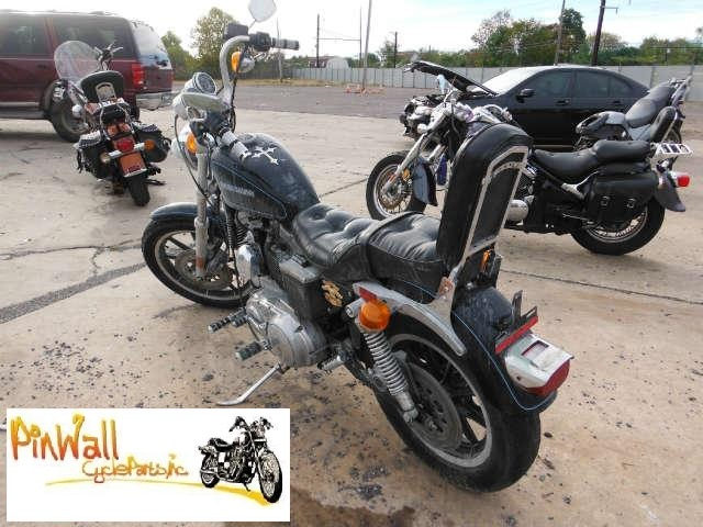 92 Harley Davidson Sportster Xlh Vacuum Operated