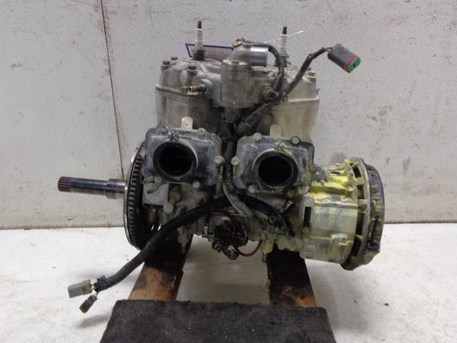 USED 07 Bombardier MXZ Ski Doo 800 ENGINE MOTOR VIDEOS INSIDE