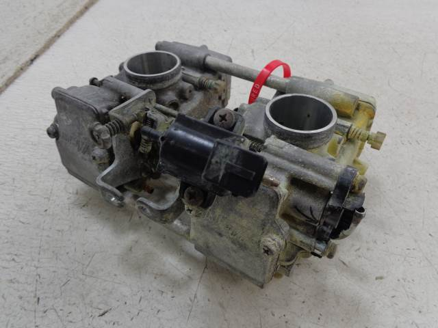 USED 07 Bombardier MXZ Ski Doo 800 CARBURETOR CARBS VIDEOS INSIDE