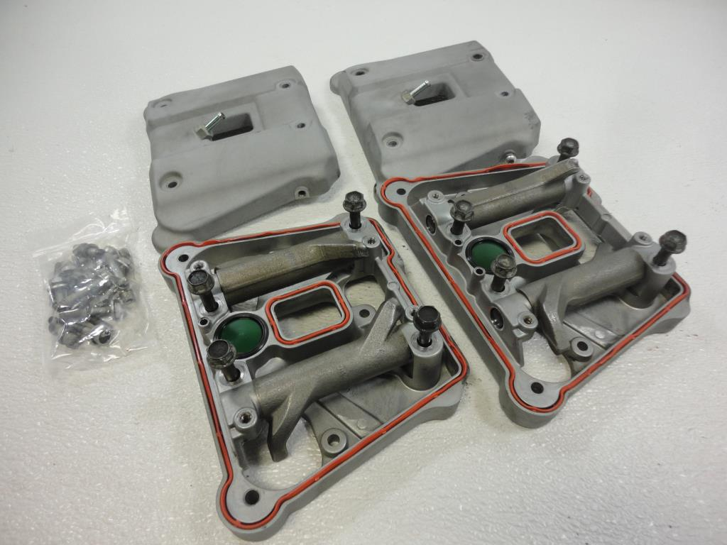 USED 2008 2009 2010 Harley Davidson Sportster XR1200 ROCKER BOX COVER ROCKERS SET