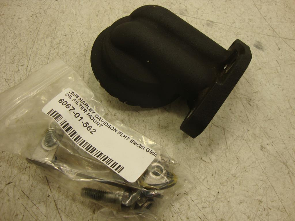 USED 1999-2006 Harley Davidson Dyna Touring OIL FILTER MOUNT TWIN CAM