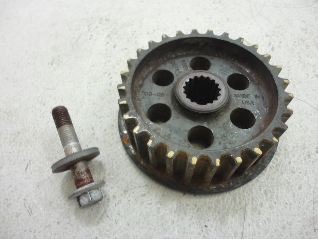 USED 09 Can-Am Spyder Roadster RT FRONT BELT SPROCKET PULLEY