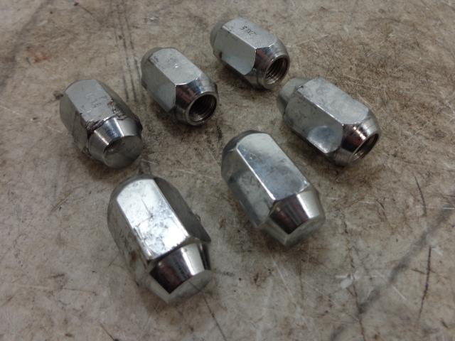 USED 12 Can-Am Spyder Roadster RT Limited  WHEEL LUG NUTS 6
