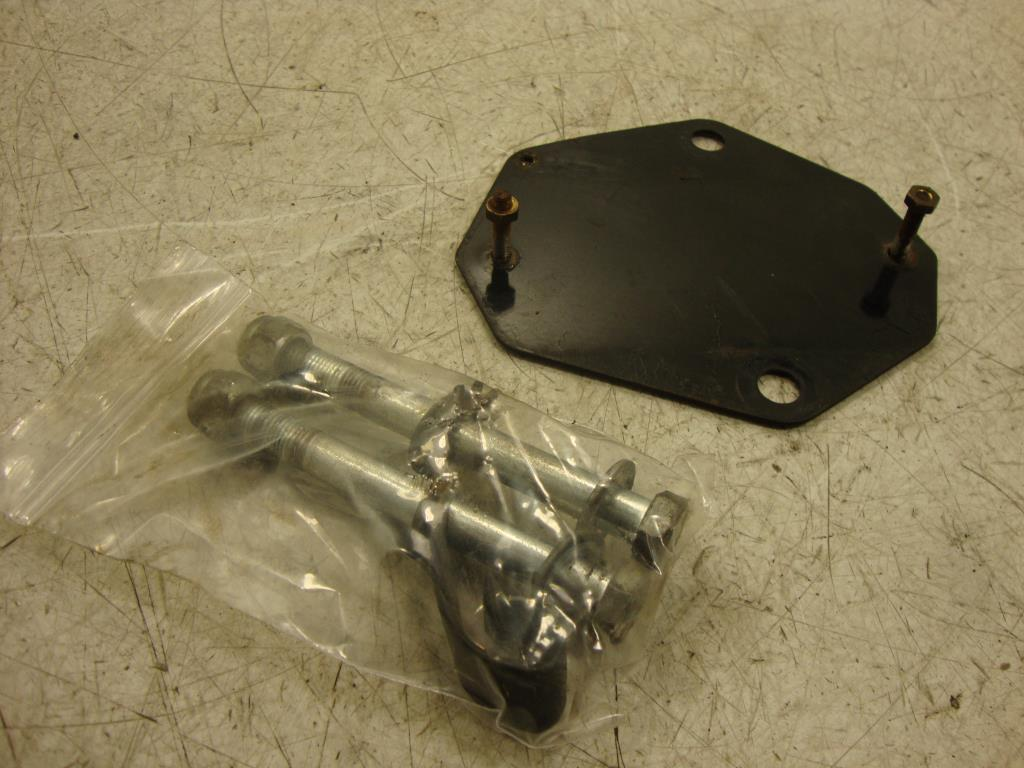 USED 83-93 Harley Davidson IGNITOR IGNITER IGNITION MODULE MOUNT BRACKET PLATE