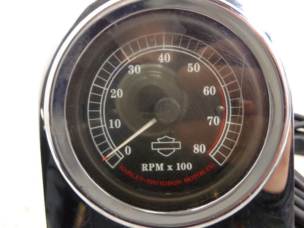 harley davidson mini tachometer tach w  bracket mount ebay