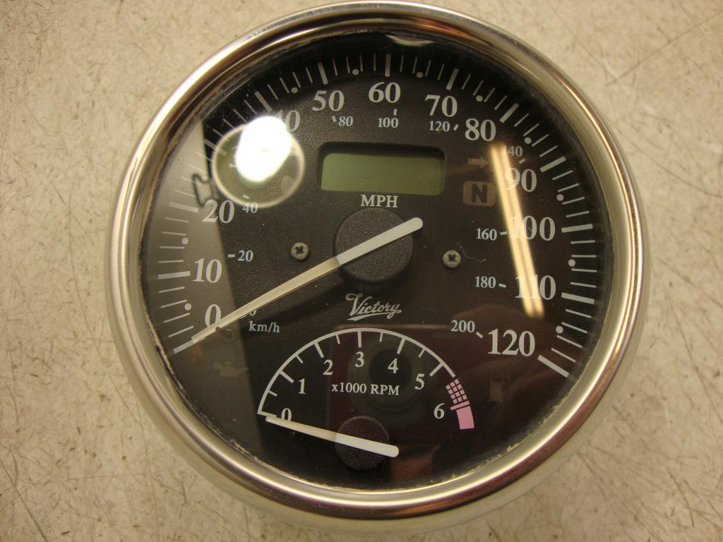 USED 2002 Polaris Victory V92 V92TC Touring Cruiser & Standard SPEEDOMETER GAUGE TACH
