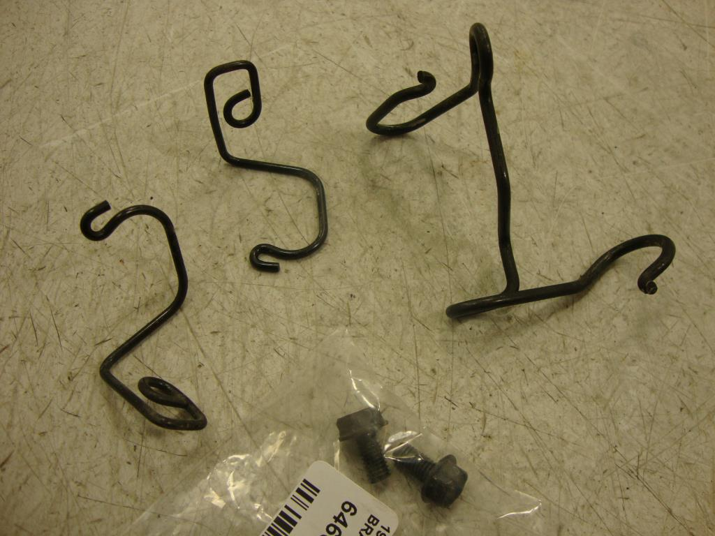 USED  1994-2006 Honda Shadow VT600 VLX DLX 600 FRONT BRAKE LINE BRACKET HARNESS GUIDE