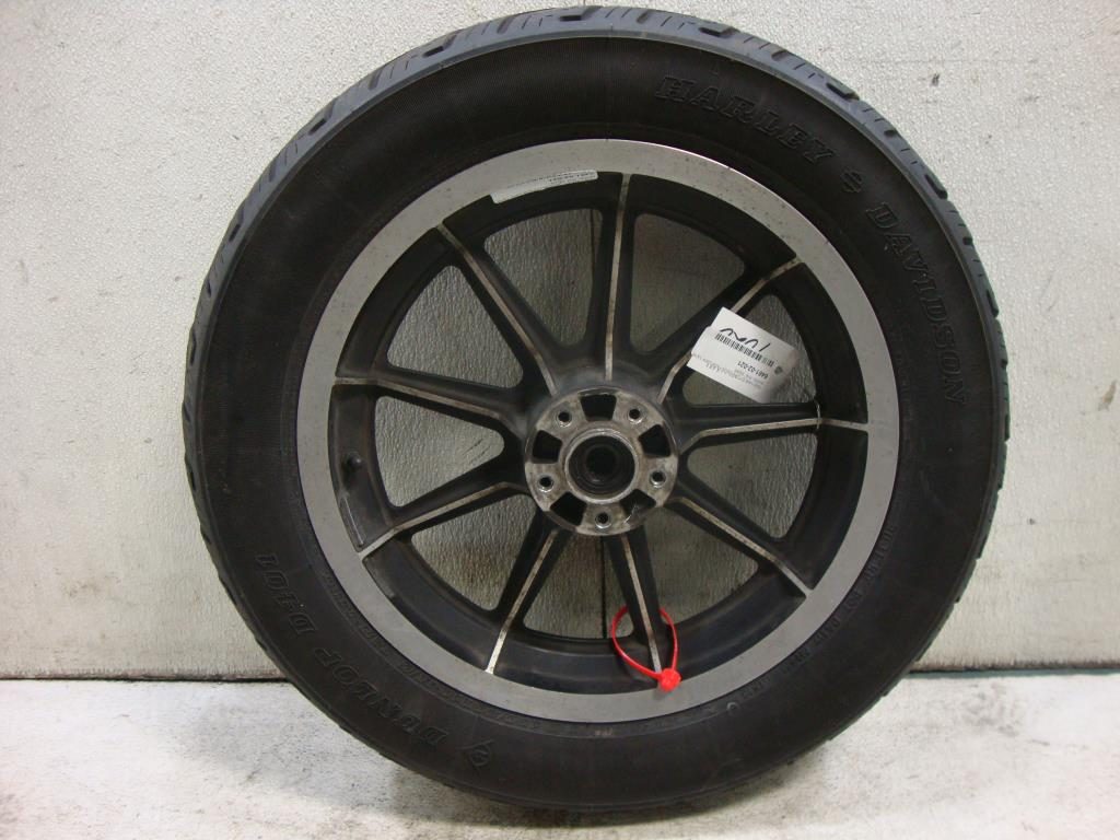 "USED Harley Davidson 13 Spoke Mag 3/4"" Axle REAR WHEEL RIM 96-99 Dyna Sportster"
