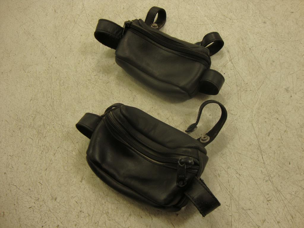 USED Yamaha Venture Royal Star XVZ1300 PASSENGER GRAB RAIL GRIP POUCH SET