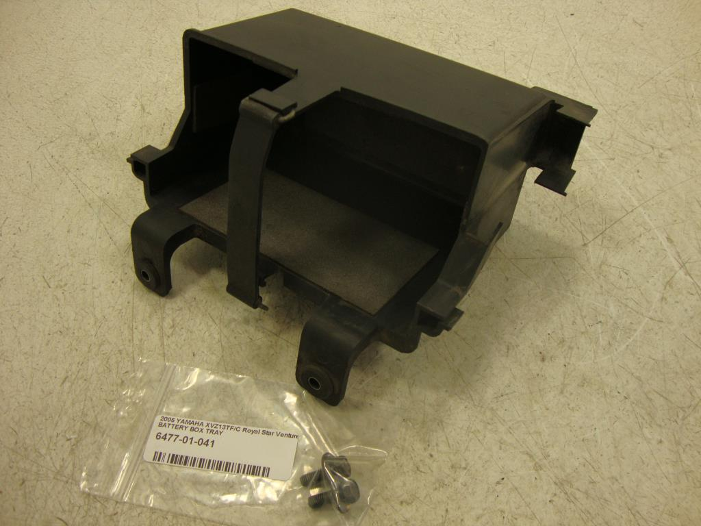 USED 96-13 Yamaha Royal Star Venture Tour  XVZ1300 BATTERY BOX TRAY 4NK-2177G-00-00