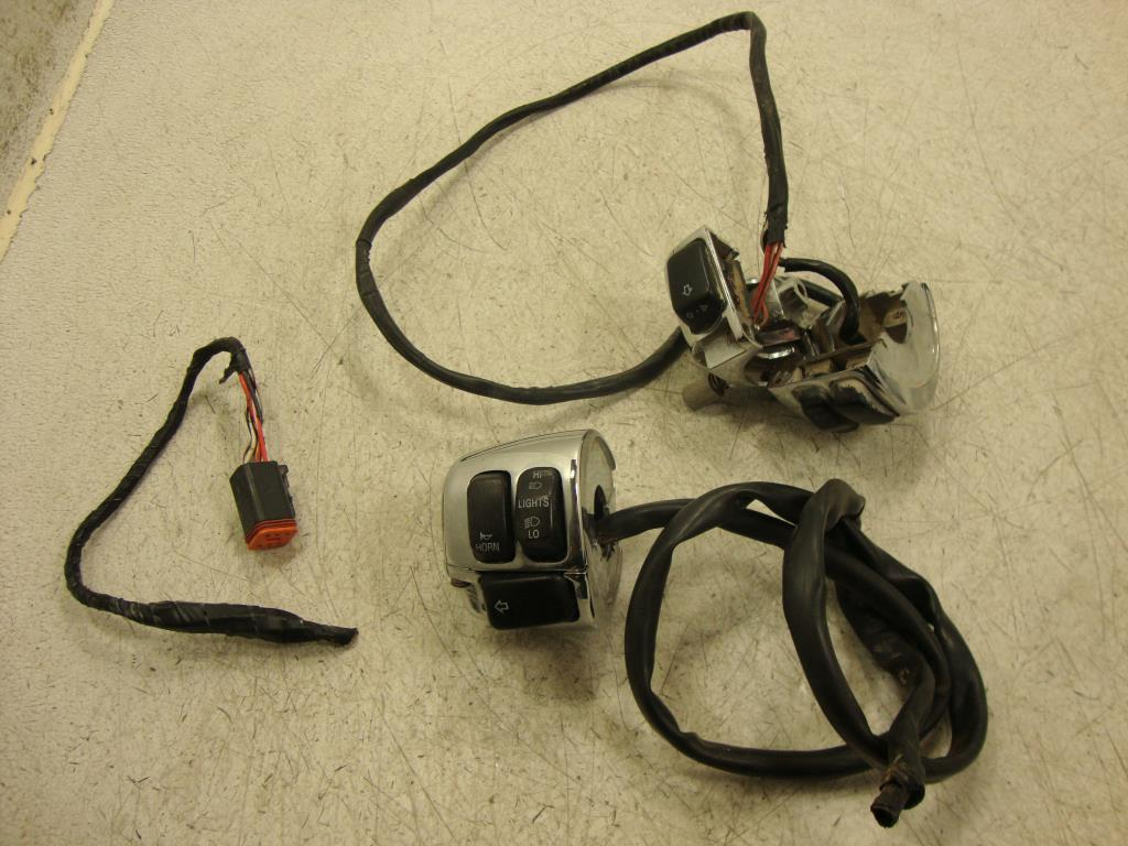 Pinwall Cycle Parts Inc Your One Stop Motorcycle Shop For Used Harley Davidson Handlebar Switch 00 8 Sportster Softail Dyna Road King Control S