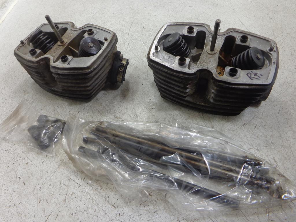 USED Ural 750 CYLINDER HEAD HEADS ENGINE MOTOR LEFT RIGHT SET