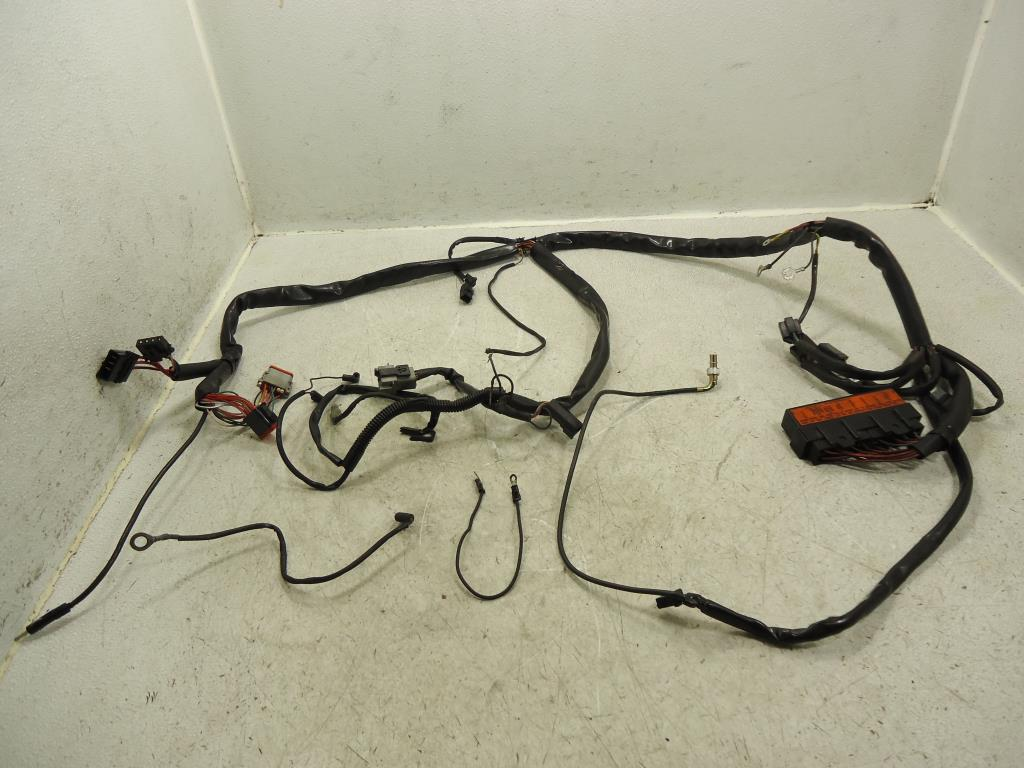 ... USED 1999 Harley Davidson Road King Glide FLHR /TRCI Touring MAIN WIRE  HARNESS