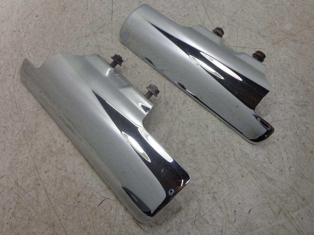 USED 2002-2008 Honda VTX1800 C/F CHROME FRONT FENDER FORK COVER LEFT RIGHT