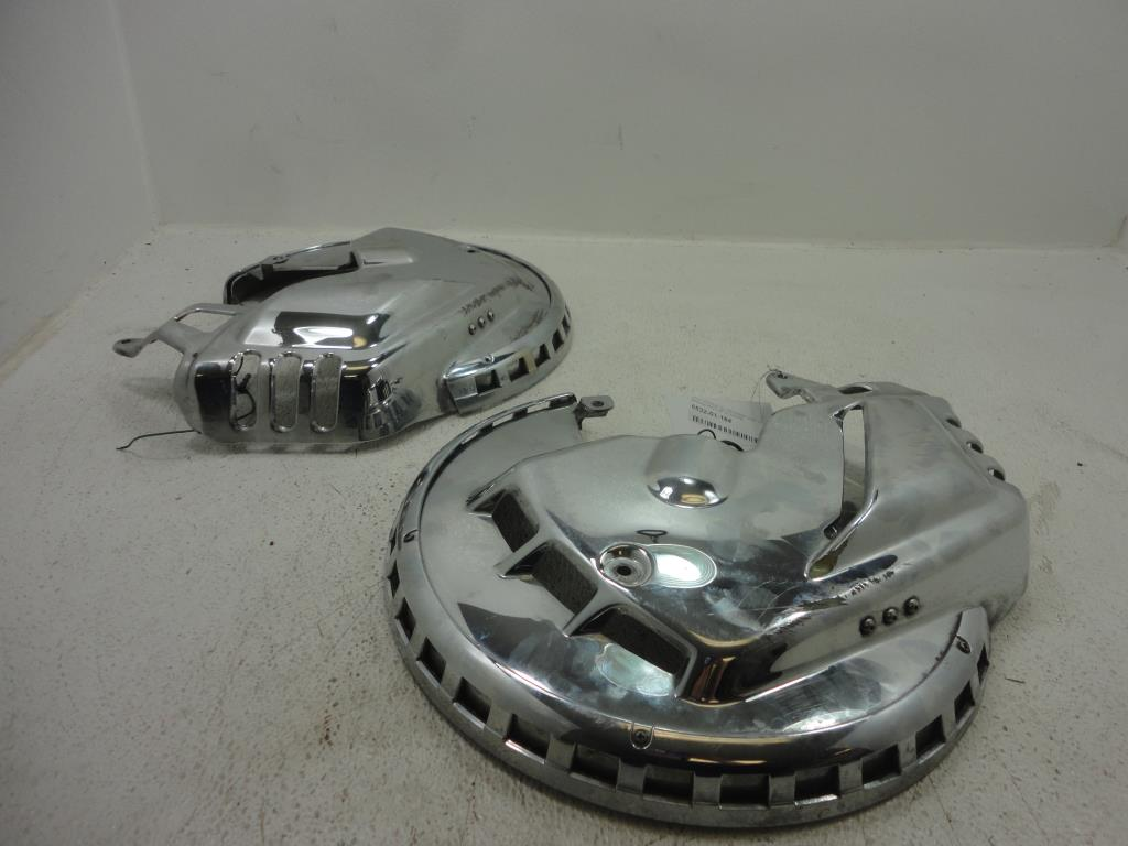 USED Honda Goldwing GL1800 1800 BRAKE ROTOR COVERS COVER KURYAKYN