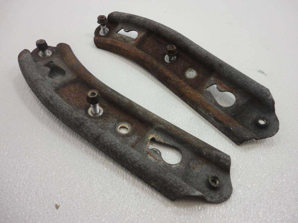 USED 2000-2007 Harley Davidson Deuce FXSTD/I REAR FENDER BRACKET REINFORCEMENT L/R