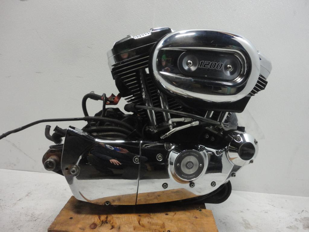 USED 04-06 Harley Davidson Sportster XL1200 ENGINE MOTOR TRANSMISSION ELECTRONICS KIT