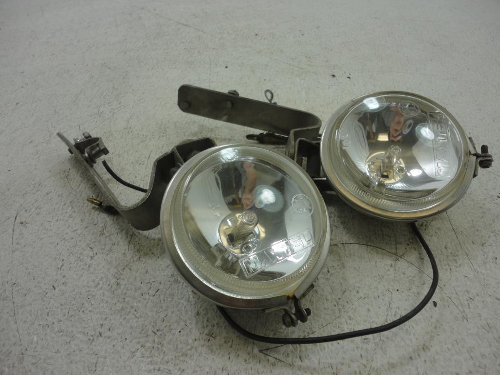 USED Maxtel ROUND FOG SPOT DRIVING LIGHTS