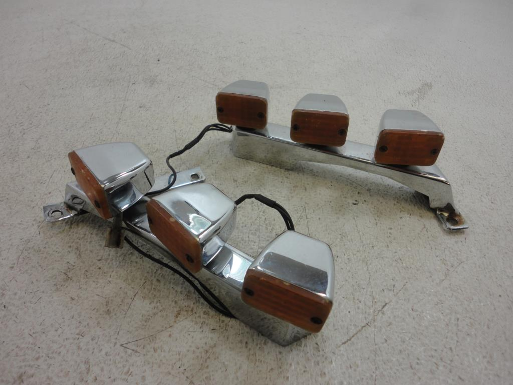 USED 1988-2000 Honda Goldwing GL1500 ADD ON FORK LIGHTS MOUNT MOUNTS LIGHT LEFT RIGHT