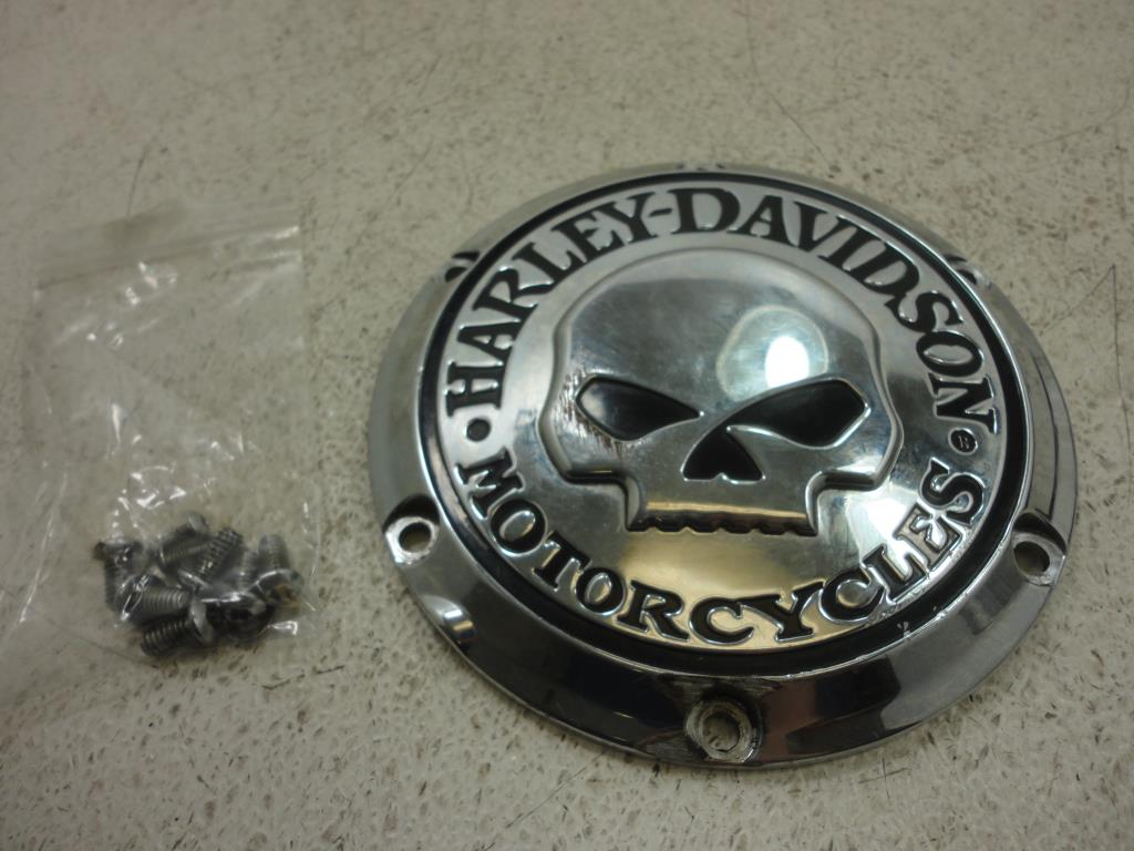USED 2004-2017 Harley Davidson Sportster CUTCH ENGINE WILLIE G SKULL DERBY COVER