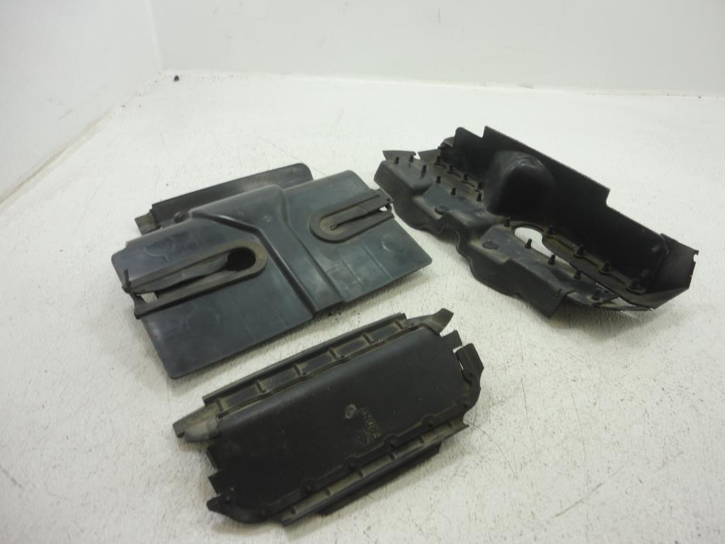 USED 1983-1993 Yamaha Venture XVZ1200 XVZ13 HEAT SHIELD SHIELDS ENGINE COVER SET 3