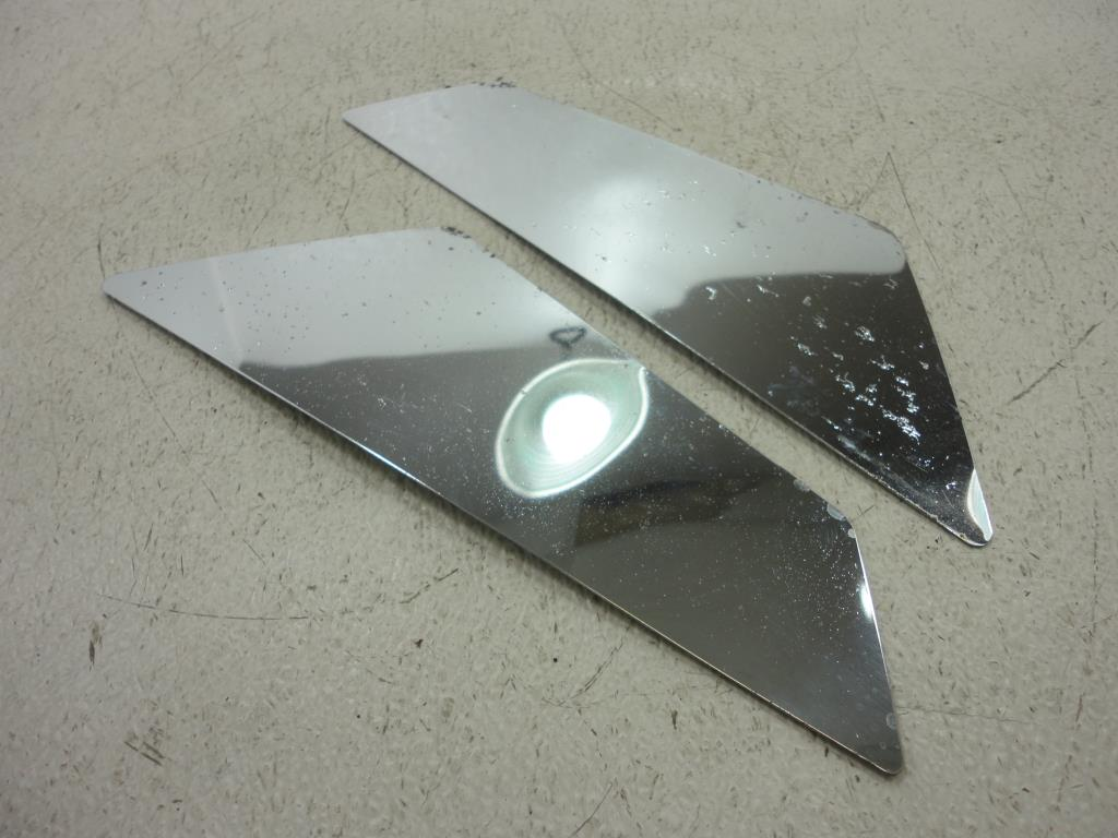 USED 1983-1993 Yamaha Venture XVZ1200 XVZ1300 CHROME LOWER SIDE COVER TRIM