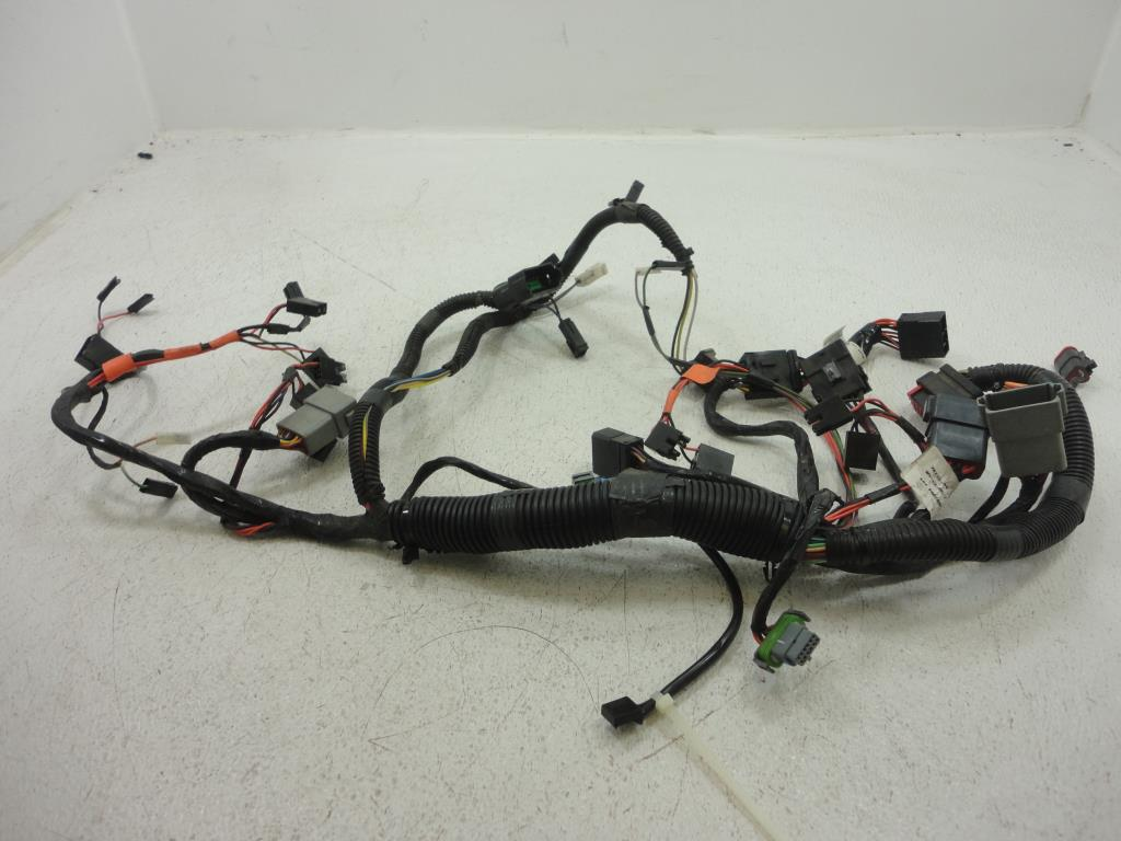 ... USED 2004 2005 Harley Davidson FLH Touring FRONT WIRE HARNESS FAIRING  INTERCONNECT