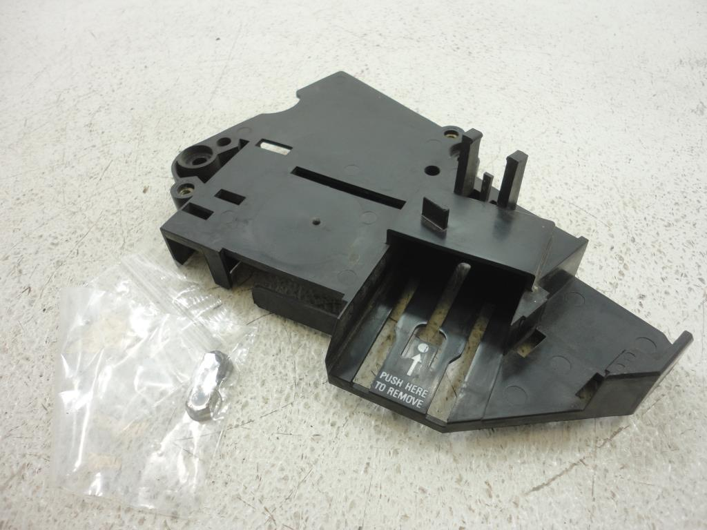 USED 02-07 Harley Davidson FLH Touring ECM COMPUTER ELECTRICAL BRACKET 70348-02